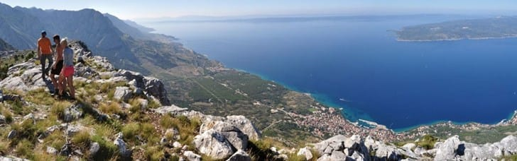 Greatest highlight on Makarska Riviera and the 2nd highest mountain range in Croatia